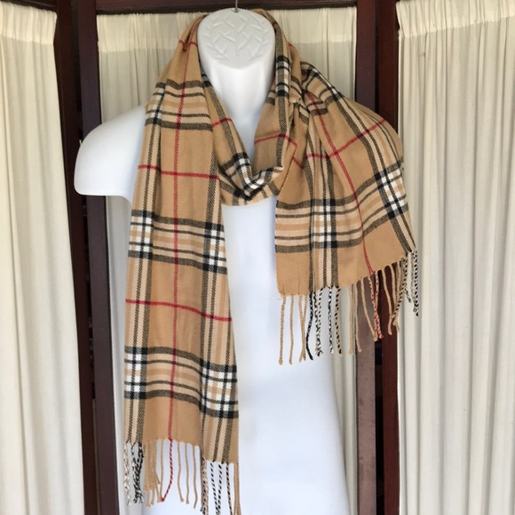 Plated scarf scarves